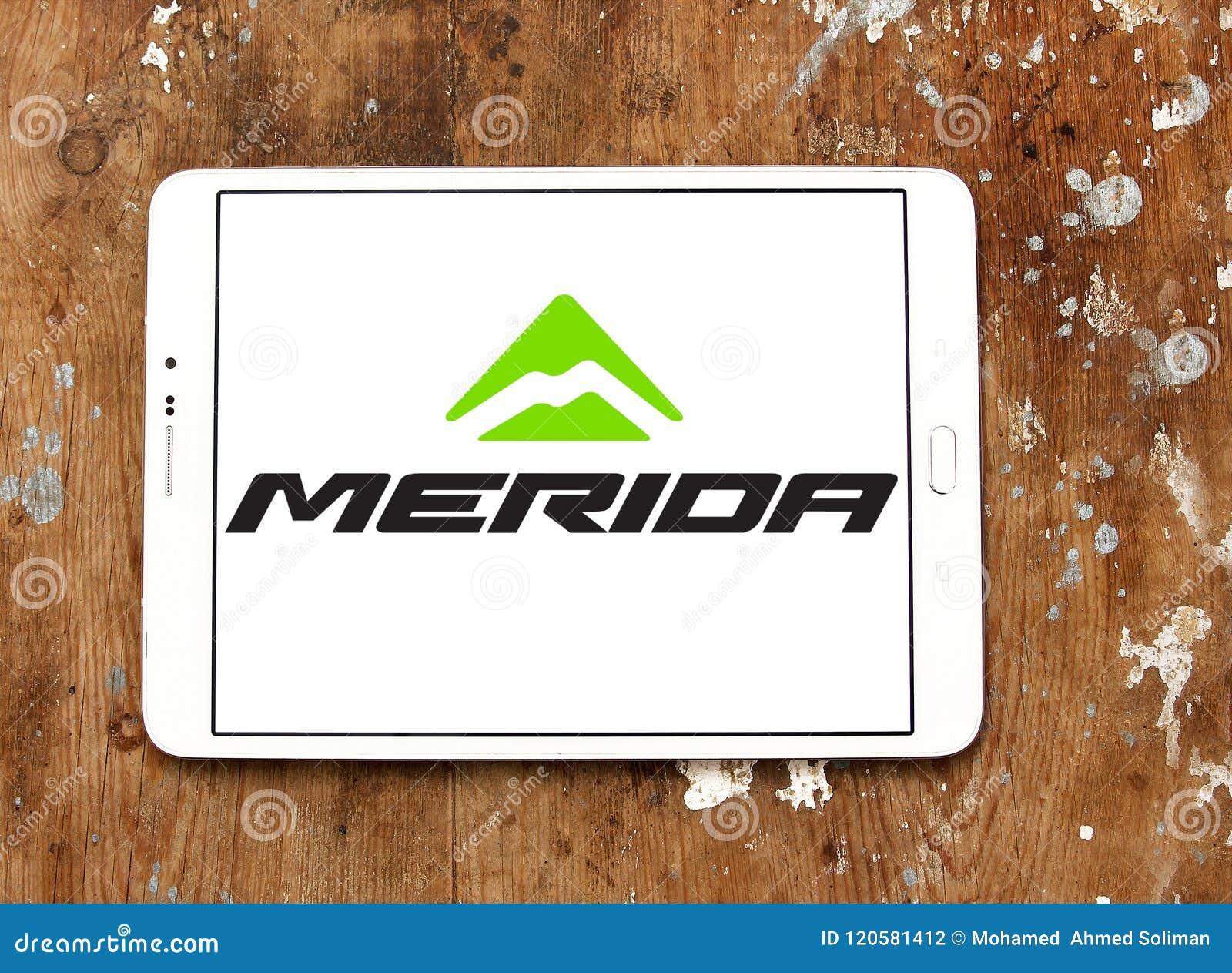 Merida Bikes company logo editorial photography  Image of bicycles