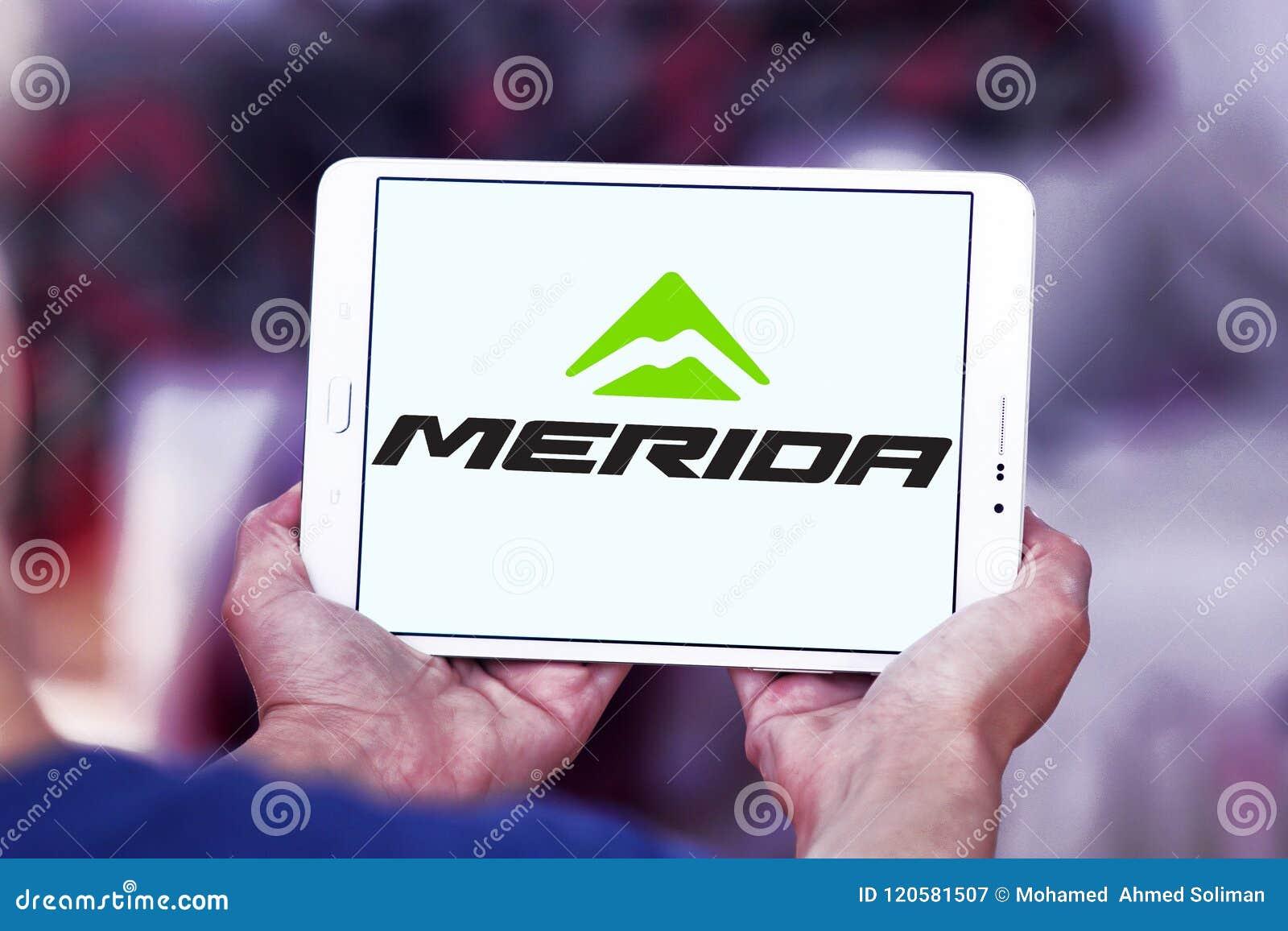 Merida Bikes company logo editorial photography  Image of