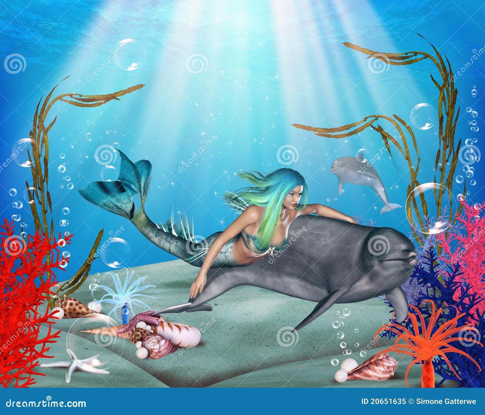 Mermaid дельфина