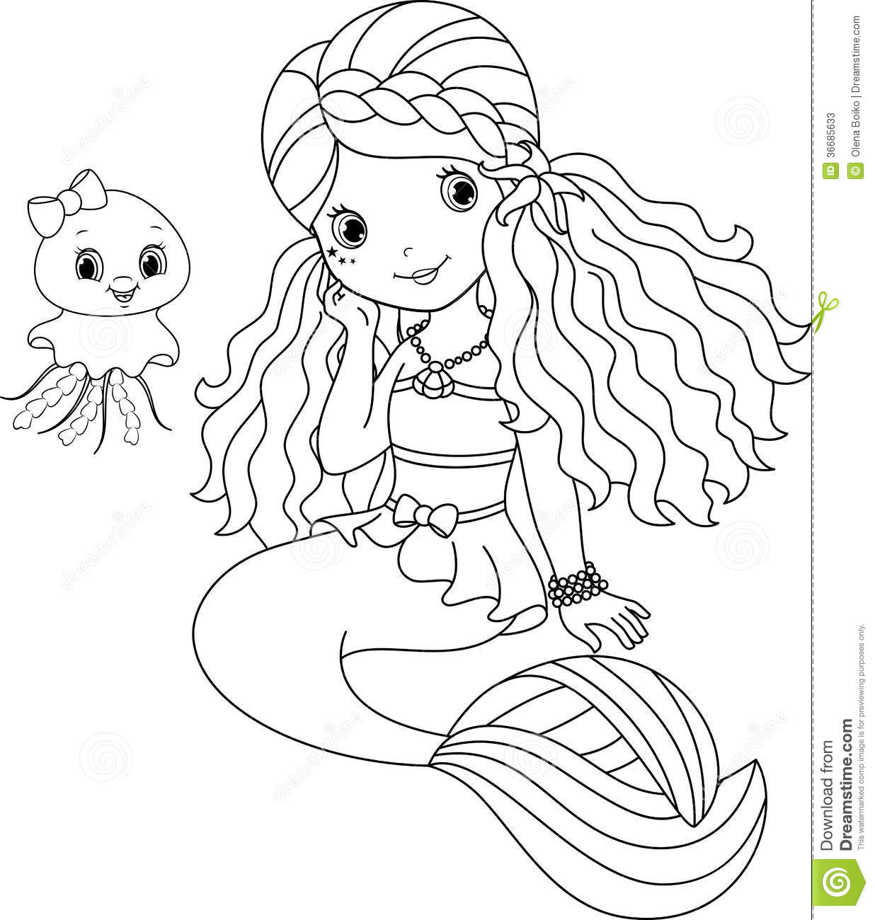 Pin Cute Jellyfish Coloring Pages Cartoon On Pinterest