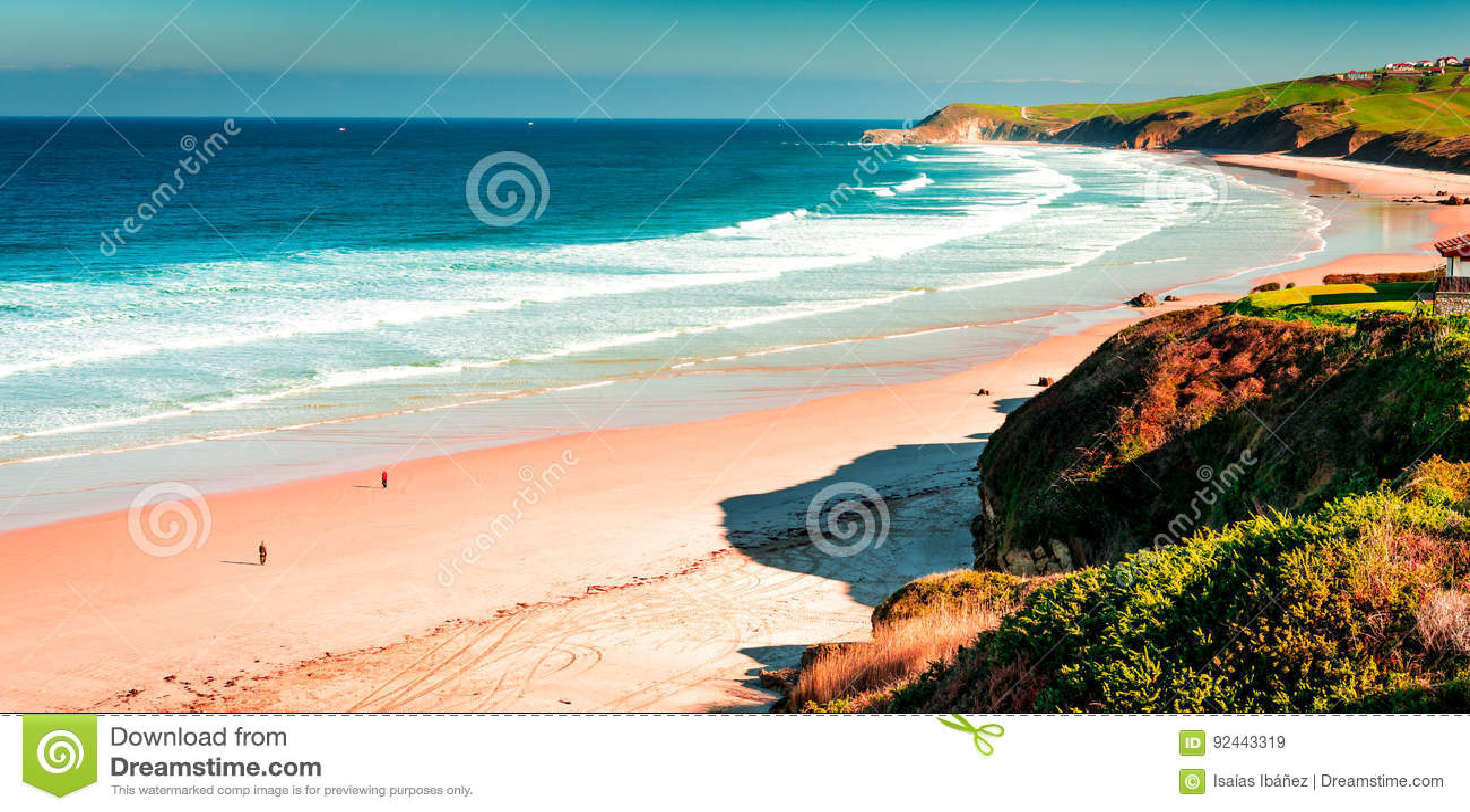 Meron-Strand San Vicente de la Barquera