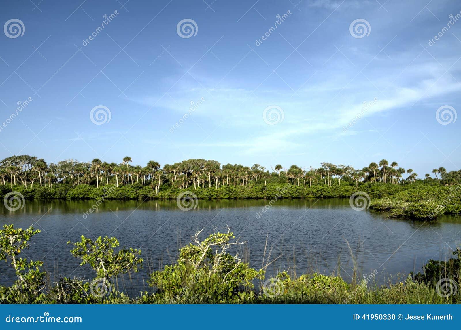 Merritt wyspy rezerwat dzikiej przyrody