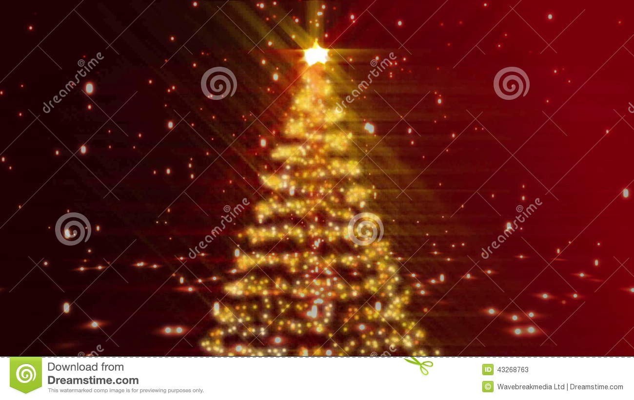 Animation Frohe Weihnachten.Merry Christmas Animation Stock Video Video Of Tree 43268763