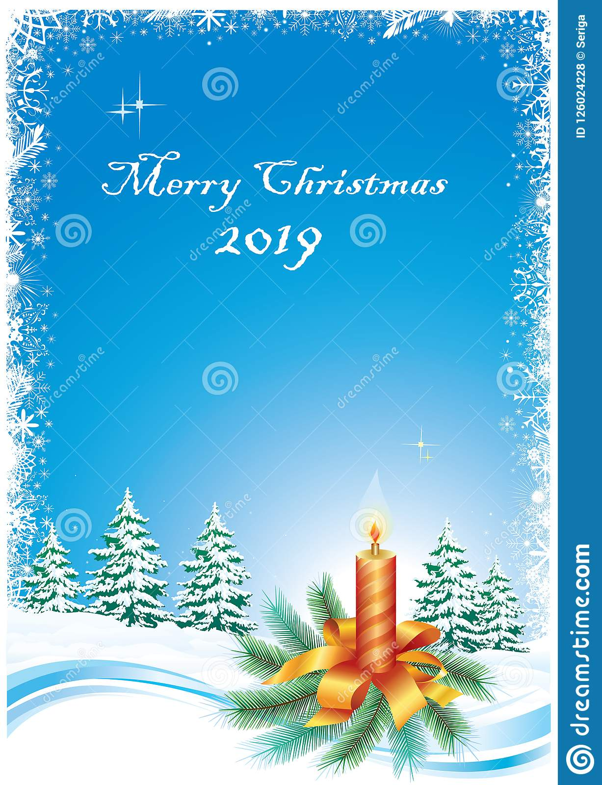 2019 Christmas Background Merry Christmas 2019 Background Stock Vector   Illustration of
