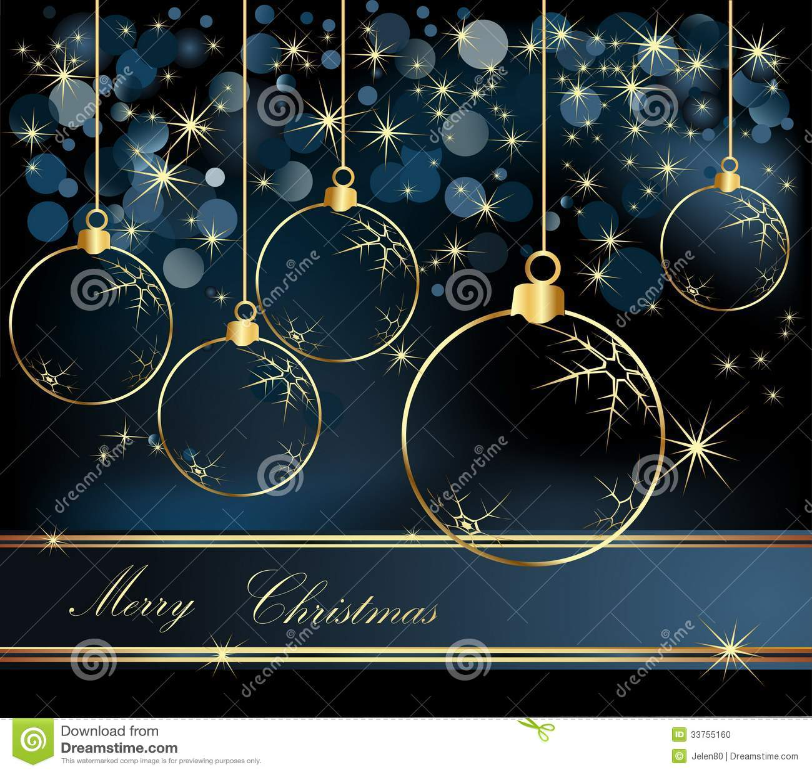 Merry Christmas Background Stock Photo Image 33755160