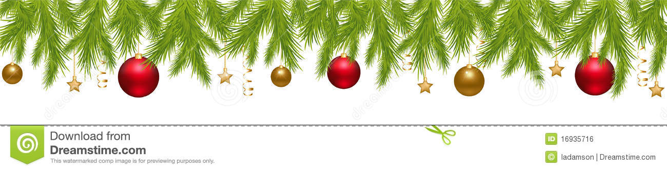 Merry Christmas Banner Vector Royalty Free Stock Image