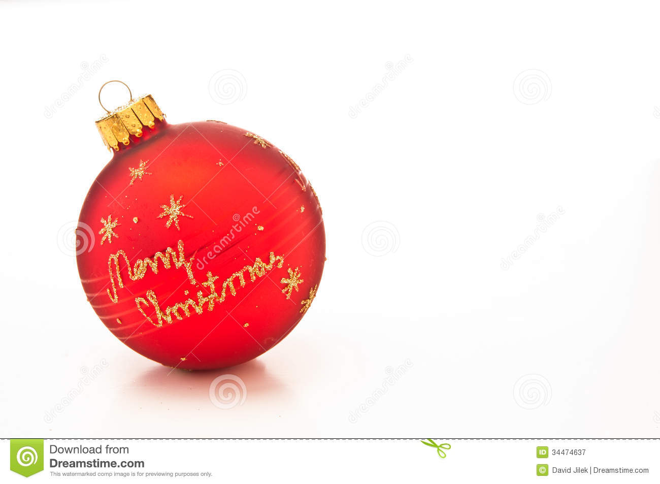 Merry Christmas bauble stock image. Image of cheery, glittery - 34474637