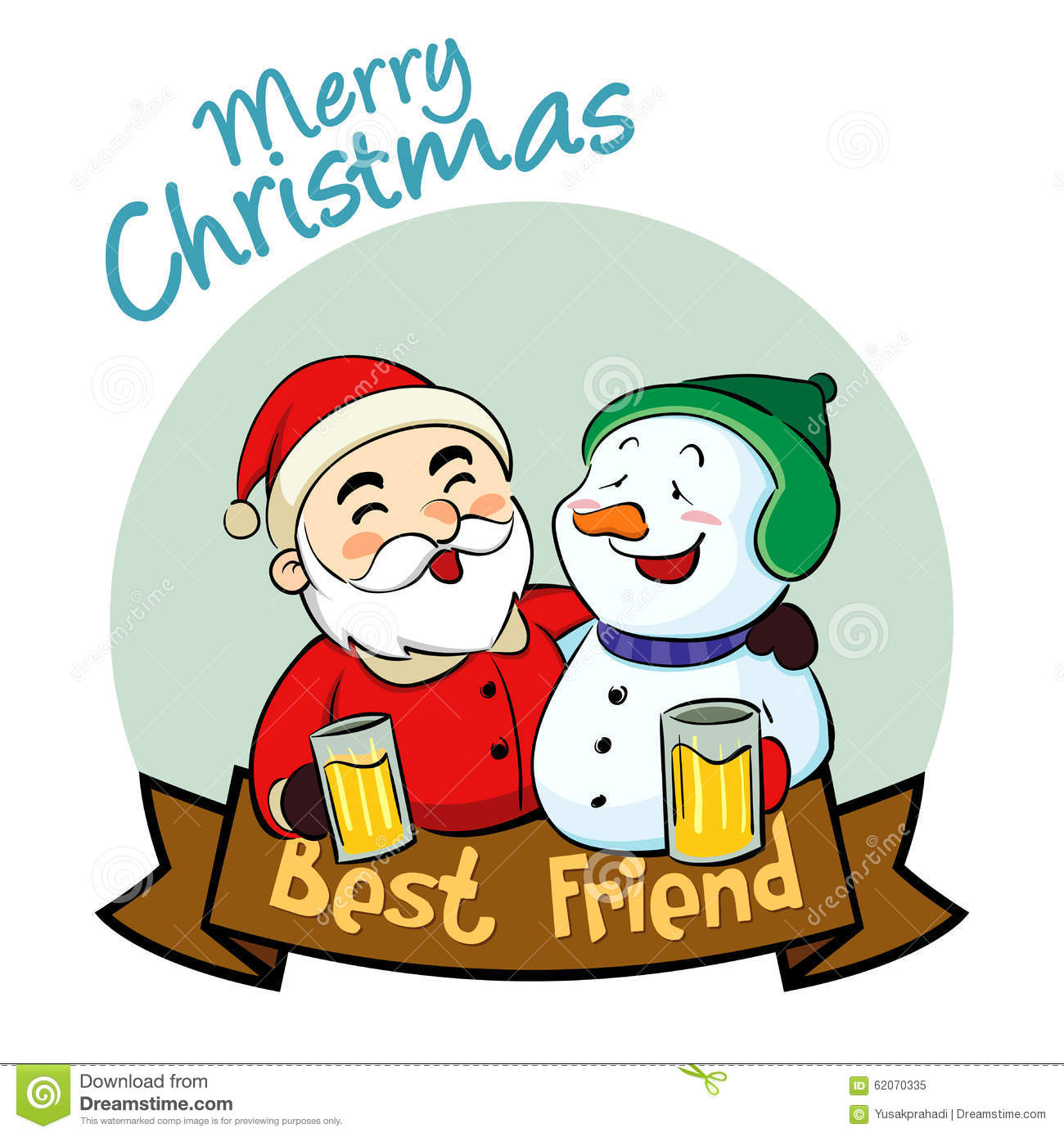 merry christmas best friend