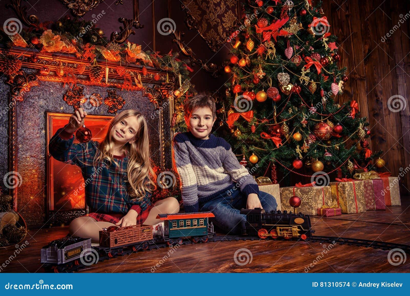 Merry Christmas Stock Photo Image Of Night Fairy