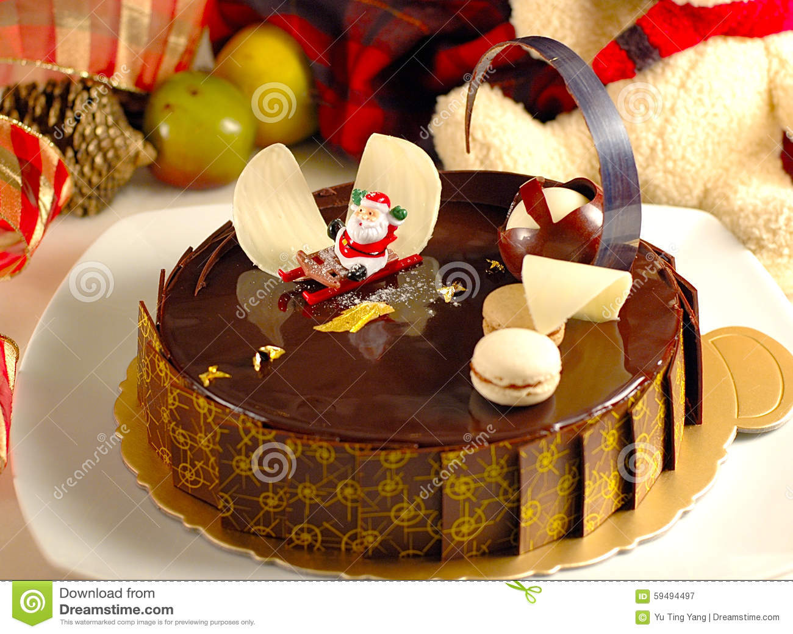 merry christmas cake pic