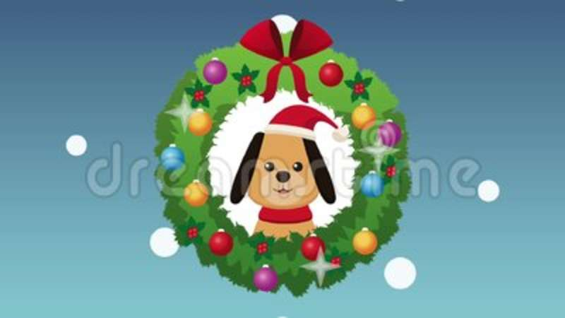 Merry Christmas Card Hd Animation Stock Video Video Of Inside