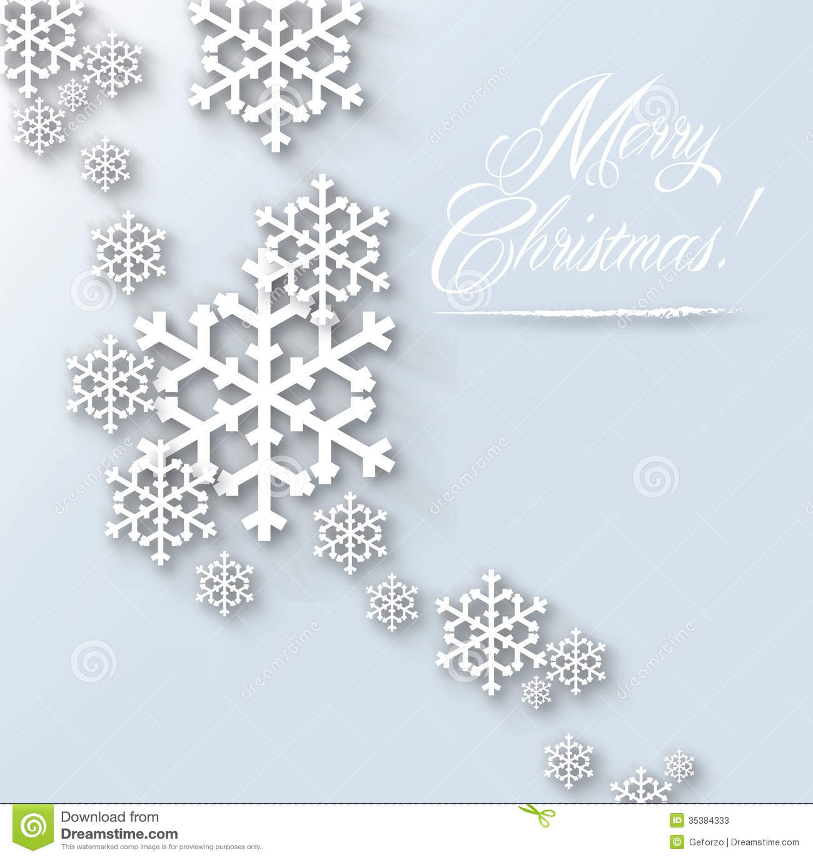 Merry Christmas Card - Light Stock Illustration - Illustration of ...