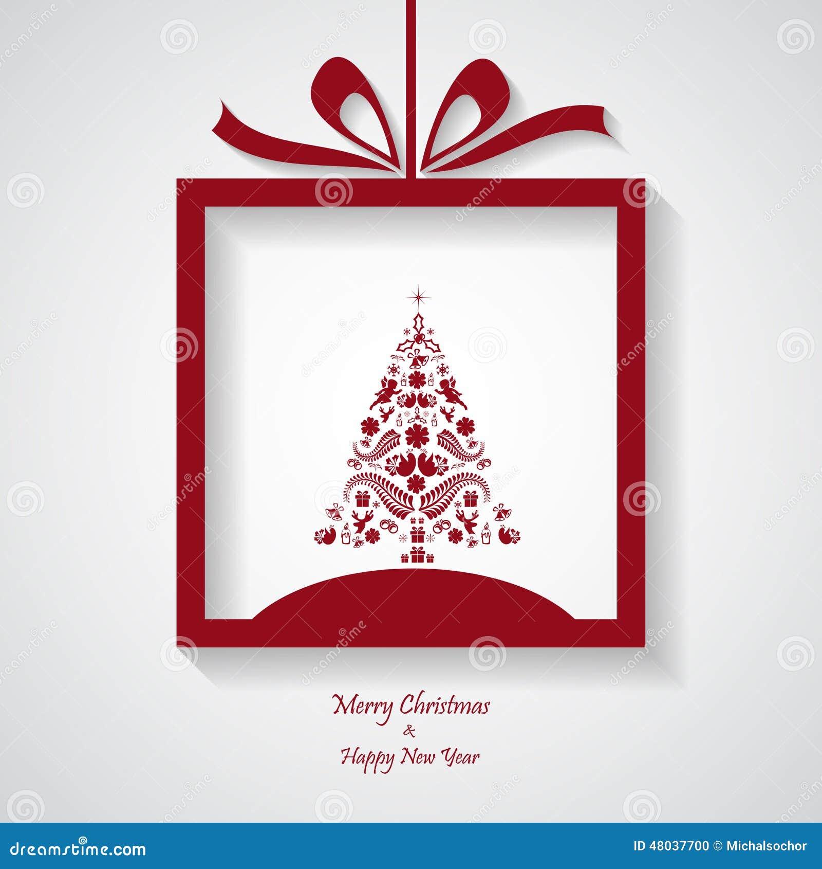 Merry Christmas Card Stock Illustration Illustration Of Greeting