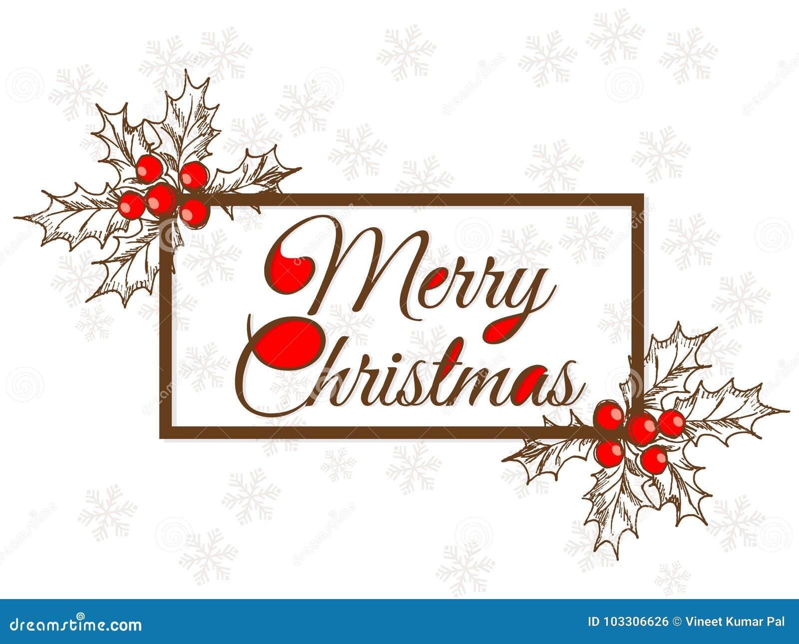 Merry christmas stock vector. Illustration of xmas, 2018 - 103306626