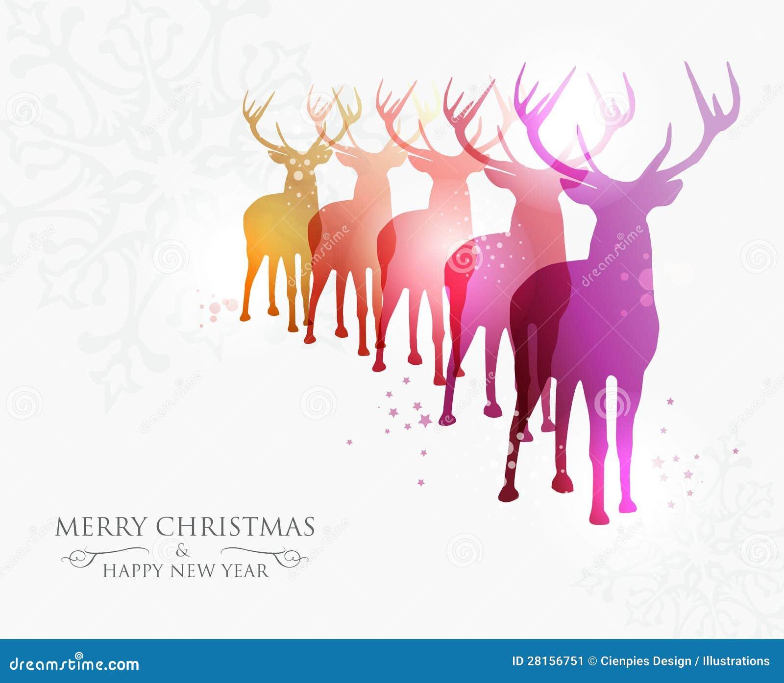 Merry Christmas Contemporary Ideas Stock Image