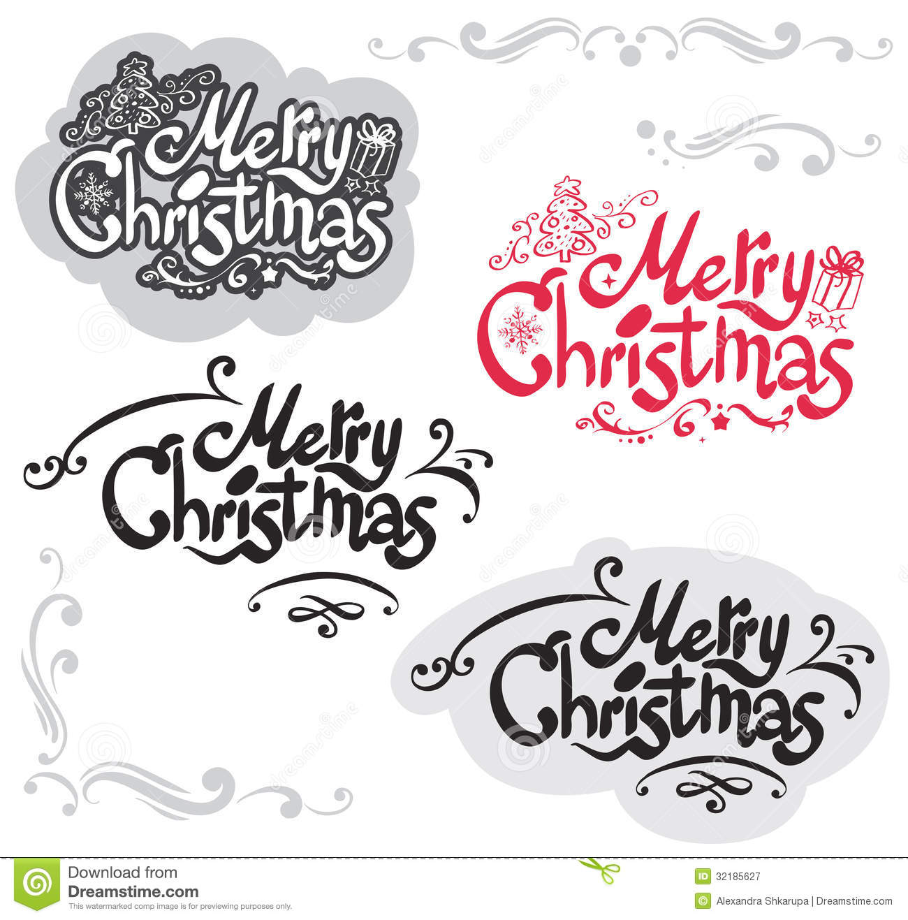 Merry Christmas Design Royalty Free Stock Photography - Image ...