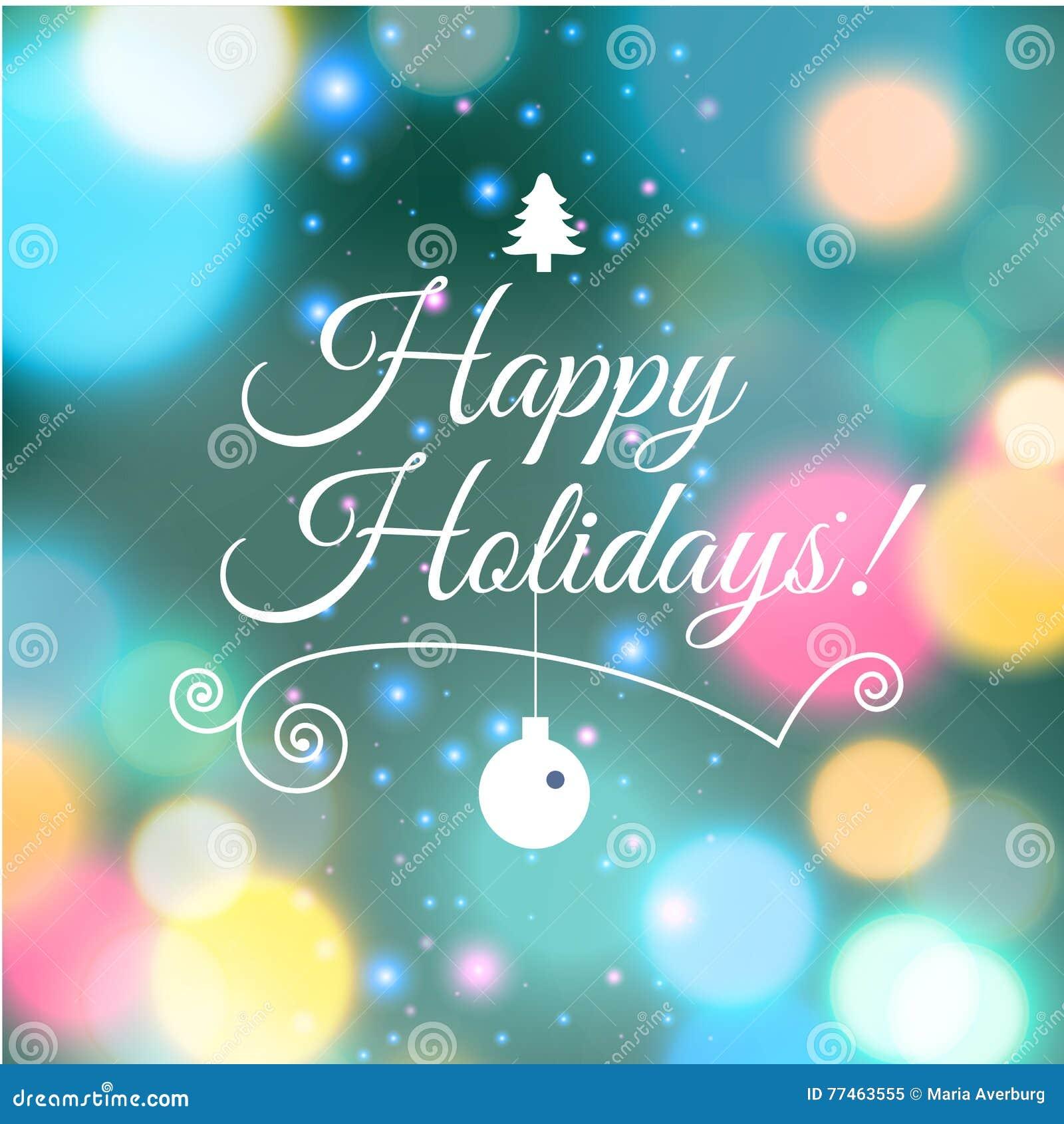 Merry christmas e card template vector illustration stock vector merry christmas e card template vector illustration 2017 typography kristyandbryce Gallery