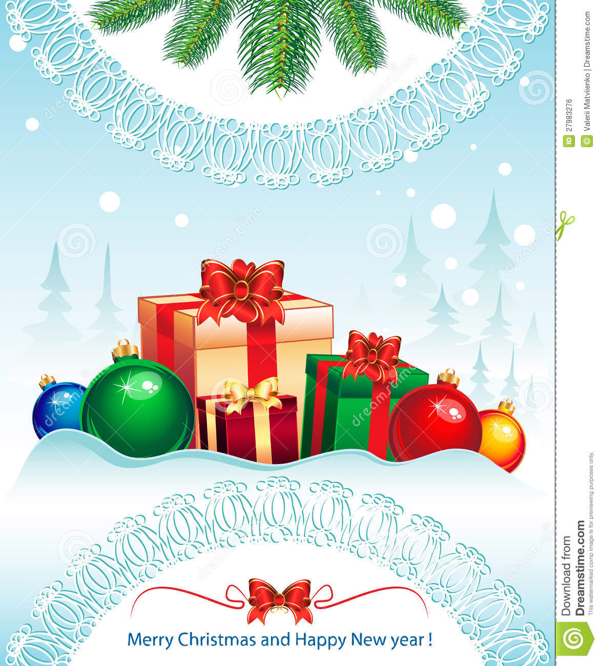 merry christmas elegant suggestive background for