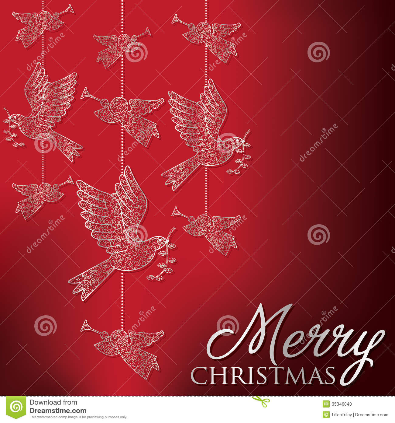 Merry christmas stock vector illustration of hanukkah 35346040 formal christmas filigree card in vector format m4hsunfo