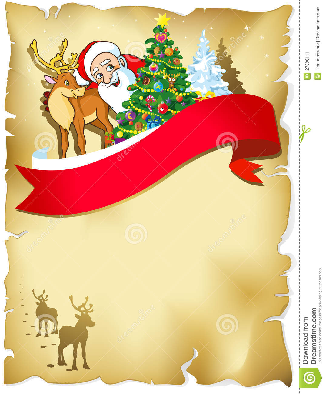 Merry Christmas Frame Stock Image - Image: 27036111