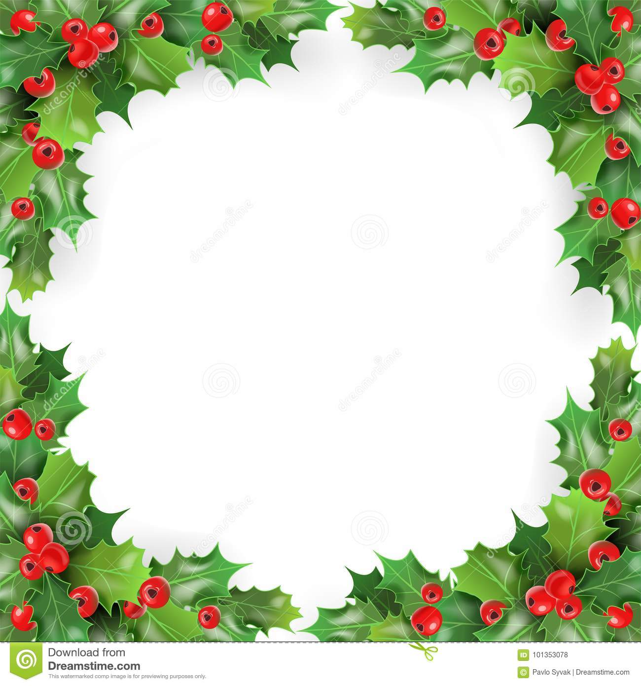Winter holidays greeting card template creative wedding invitation merry christmas frame with mistletoe holly berries winter merry christmas frame mistletoe holly berries winter holidays greeting card template merry kristyandbryce Image collections