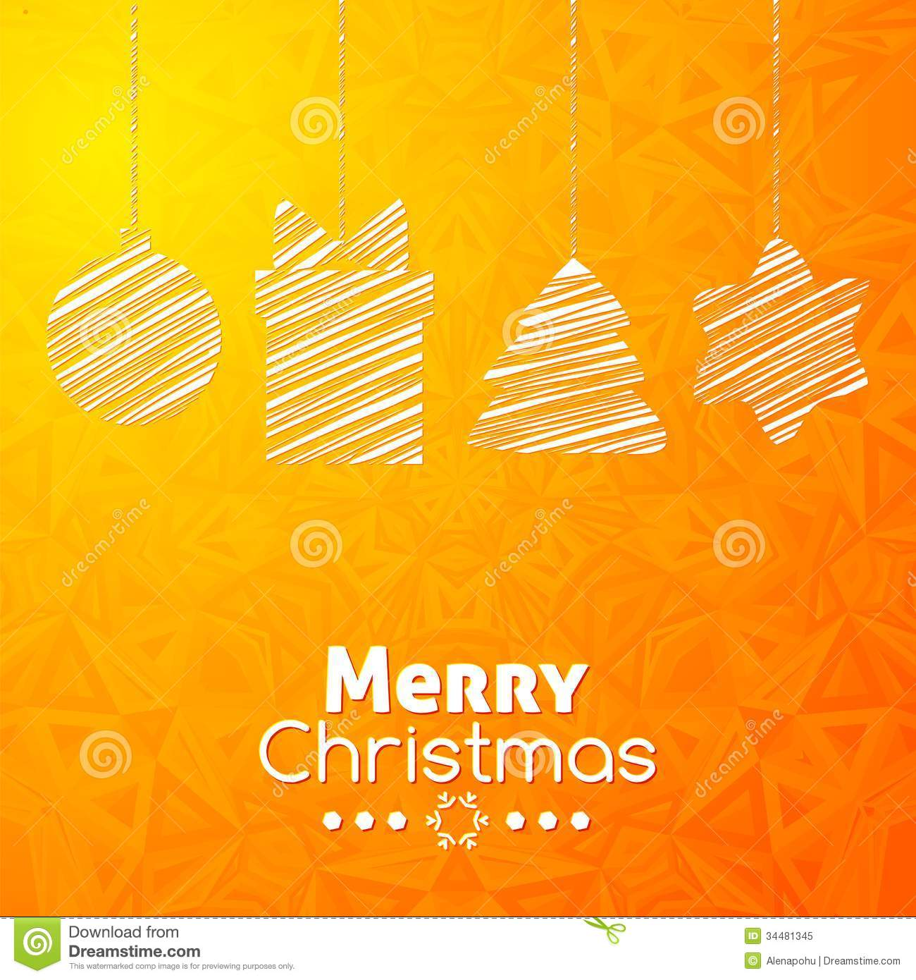 Merry Christmas Gifts Card Abstract Background Royalty ...