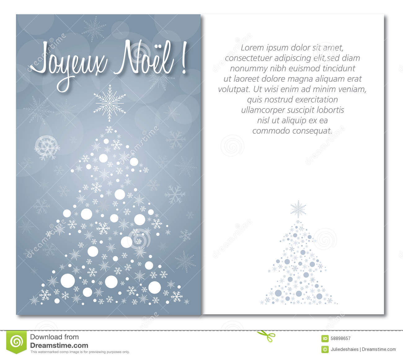 Merry christmas greeting card front and interior or back download merry christmas greeting card front and interior or back illustration french stock illustration illustration download comp m4hsunfo
