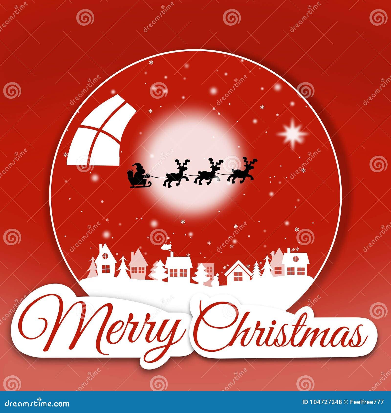 Merry christmas greeting card stock illustration illustration of download merry christmas greeting card stock illustration illustration of card conversation 104727248 m4hsunfo