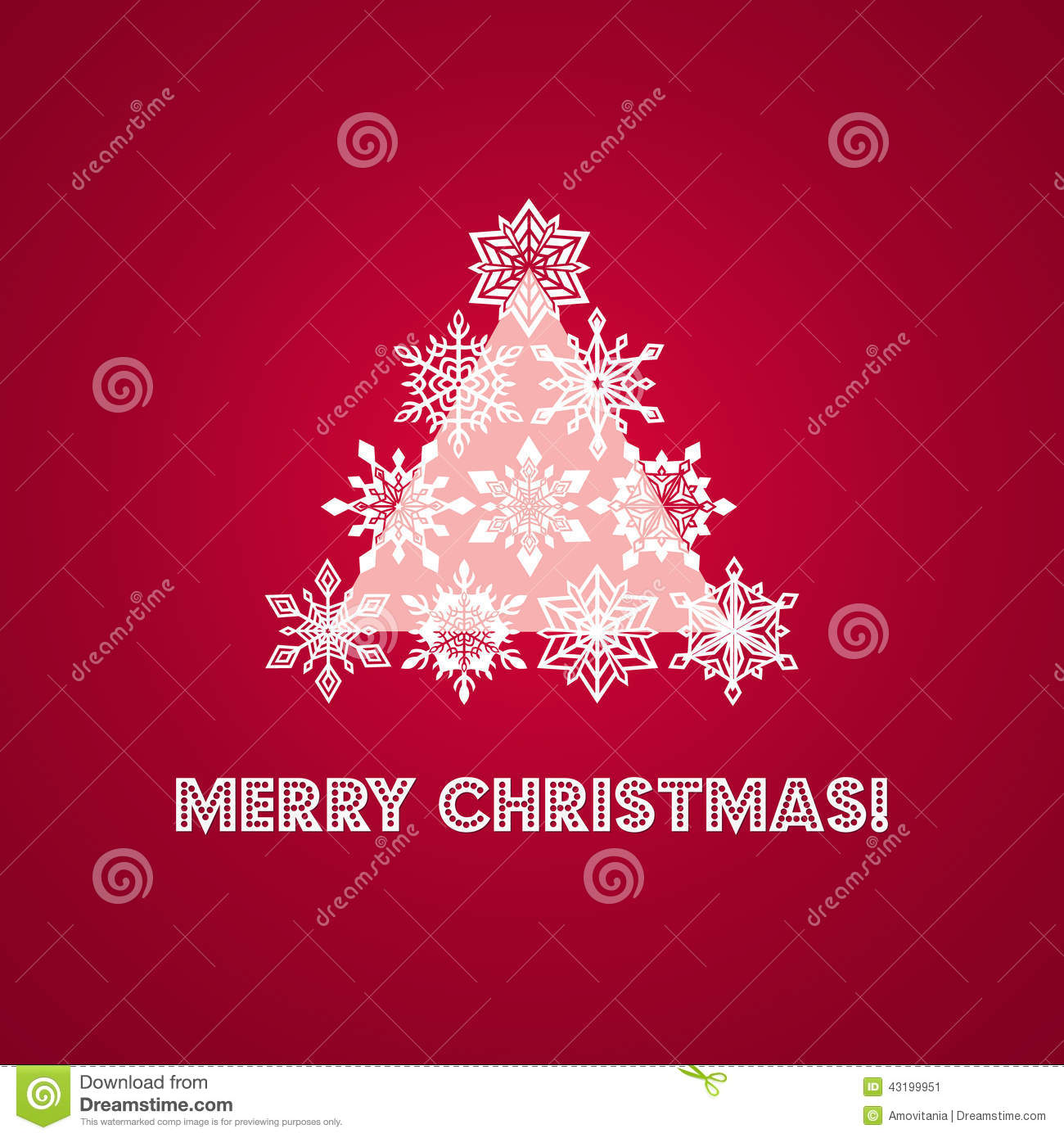 Merry christmas greeting card with words and stock vector download comp m4hsunfo