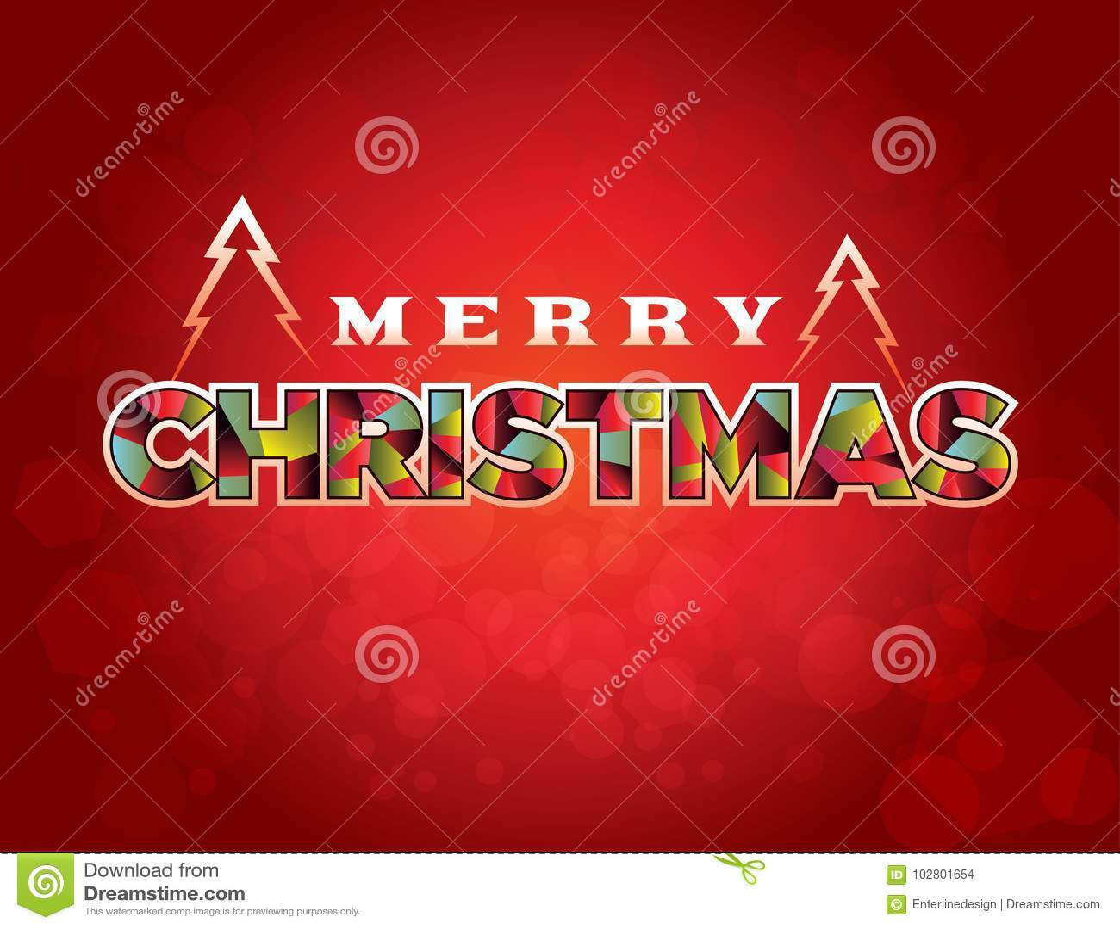 Merry christmas greeting message illustration stock vector merry christmas greeting message illustration m4hsunfo