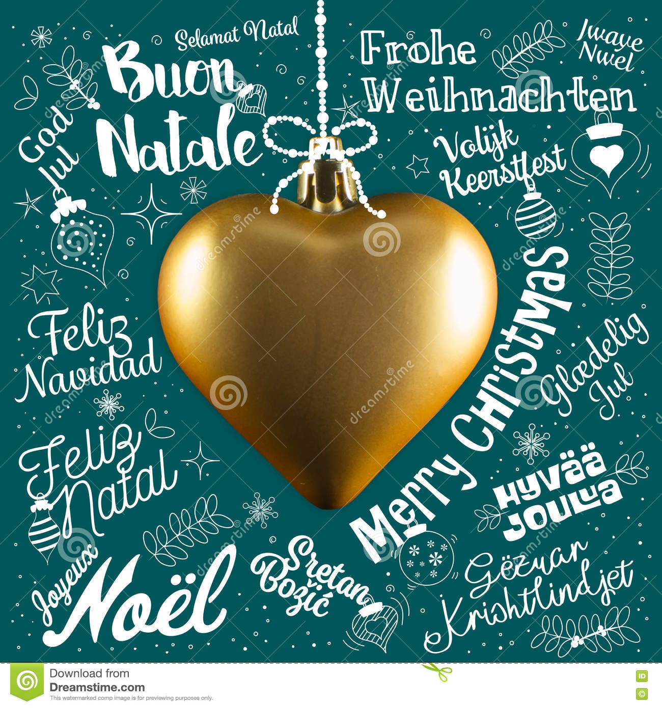 Merry christmas greetings card from world in different languages merry christmas greetings card from world in different languages italian letter kristyandbryce Images