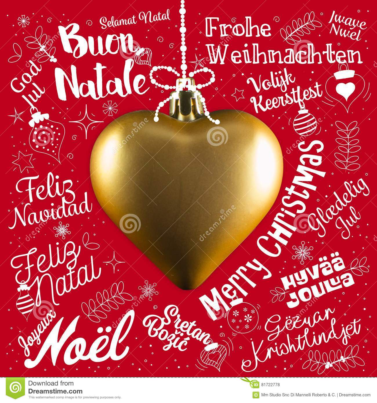 Merry christmas greetings card from world in different languages download merry christmas greetings card from world in different languages stock photo image of greeting m4hsunfo