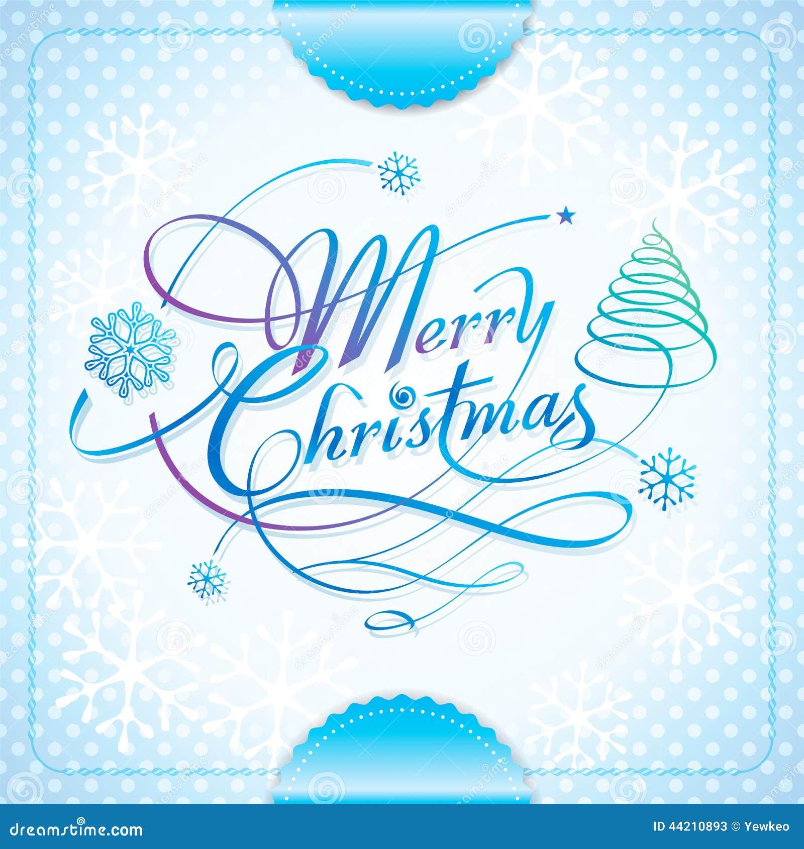 Merry Christmas Stock Vector