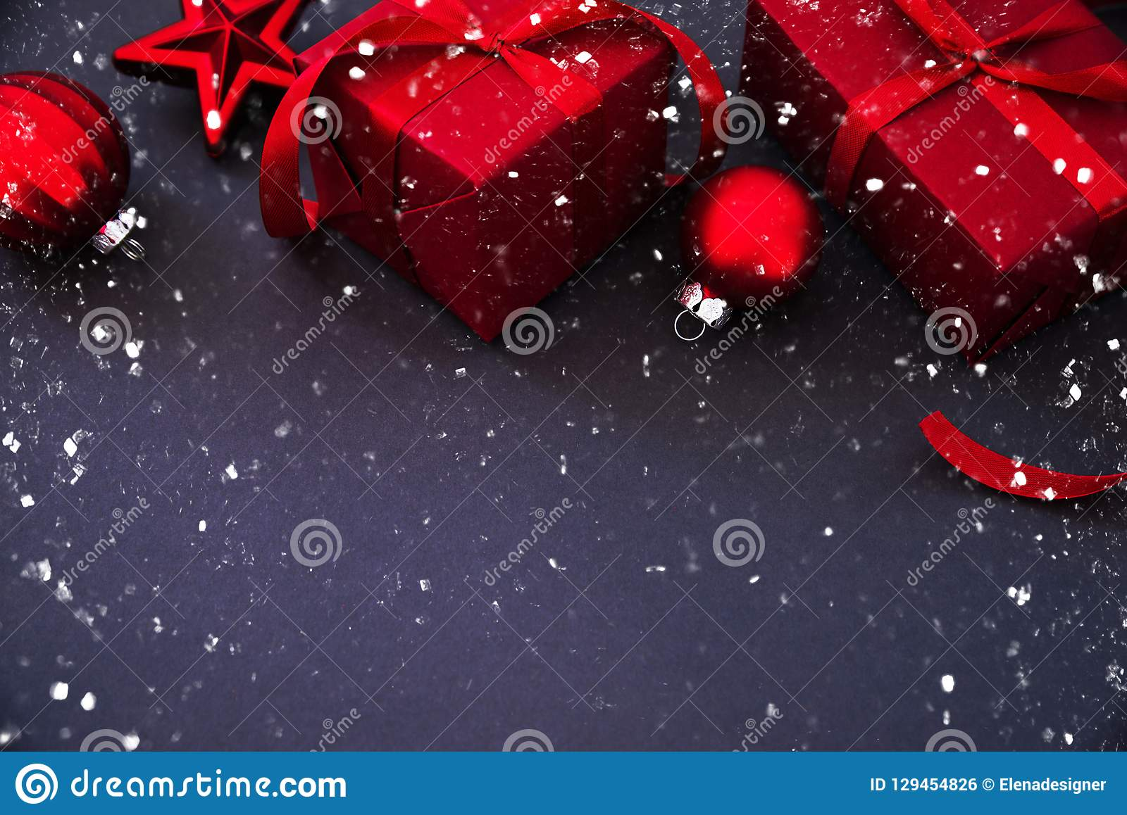 christmas and new year holiday background xmas greeting card winter holidays