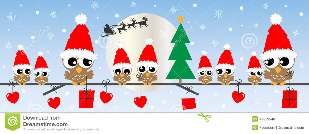 Merry Christmas Happy Holidays Stock Vector - Illustration of ...