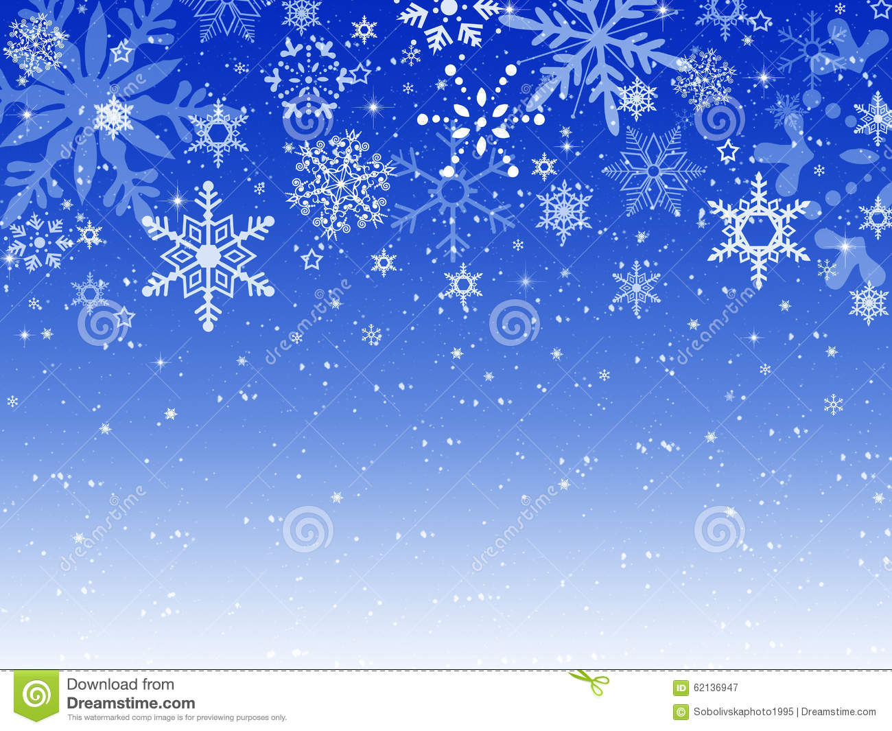 merry christmas happy new year background blue snow