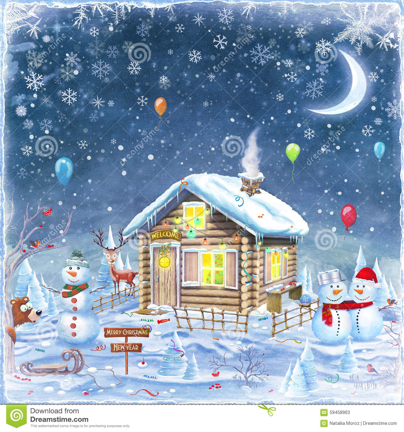 a happy christmas time at grandmas house To grandma's house we go heigh ho, heigh ho, heigh ho we're on our way with horse and sleigh through fluffy drifts of snow oh, what a trip to take.