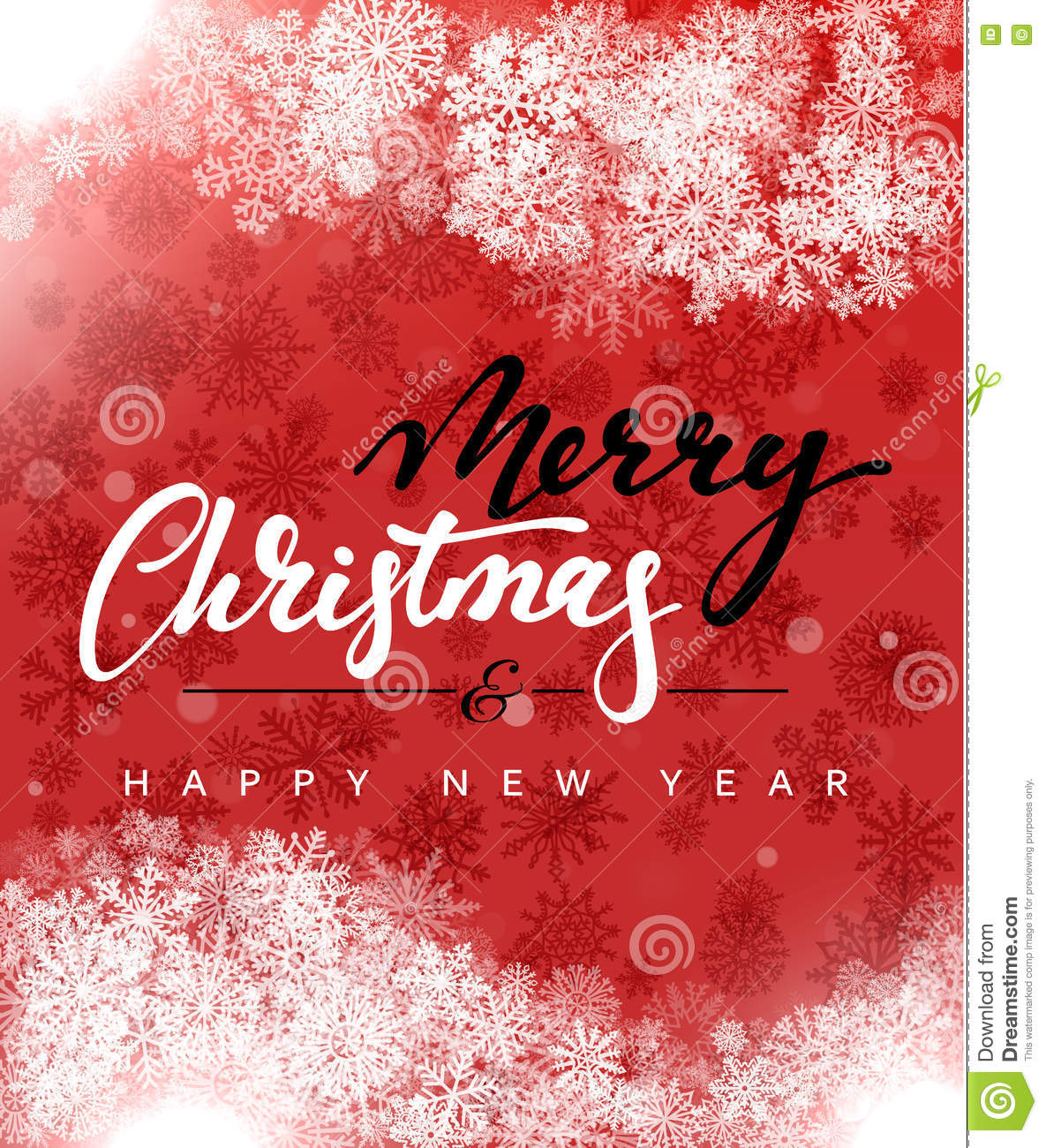 merry christmas and happy new year concept greeting card design postcard background for print or banner to your website