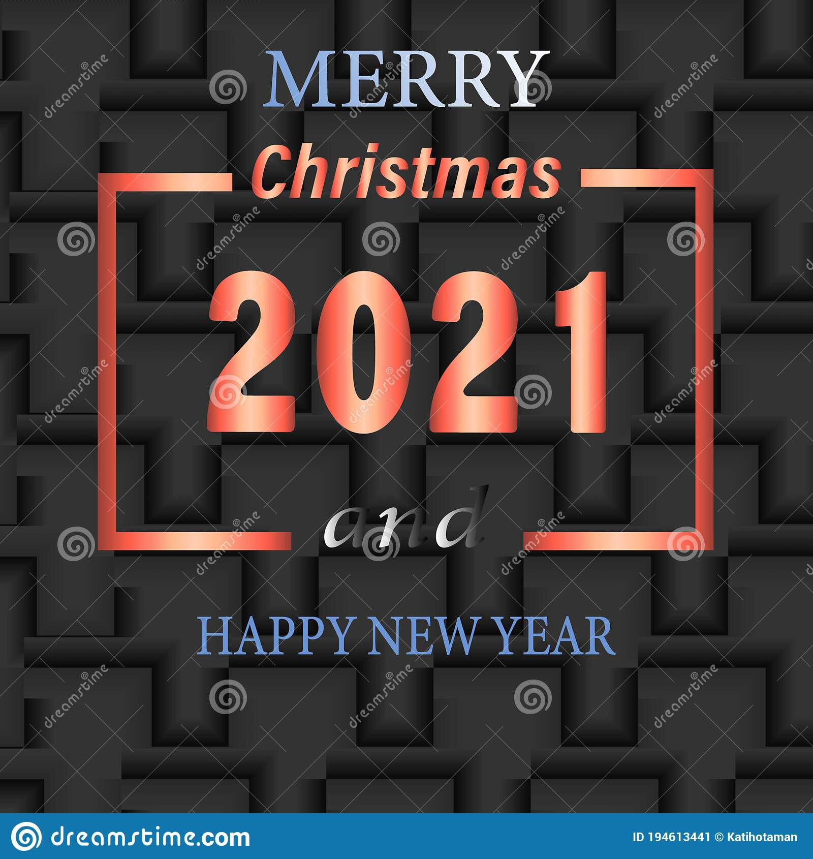 12++ Merry Christmas And Happy New Year 2021 Banner