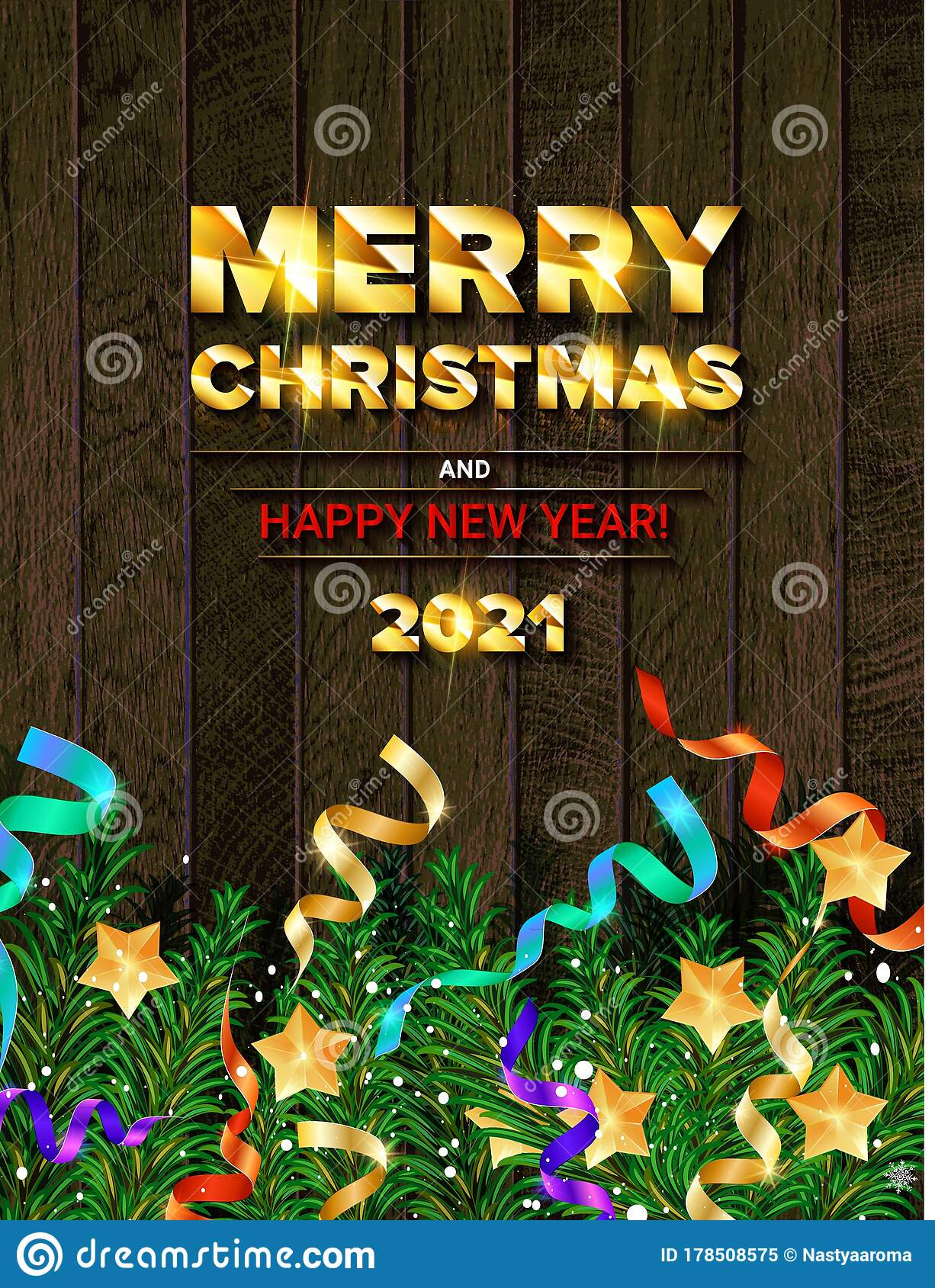 merry christmas and happy new year 2021 stock illustration illustration of evening greeting 178508575 dreamstime com
