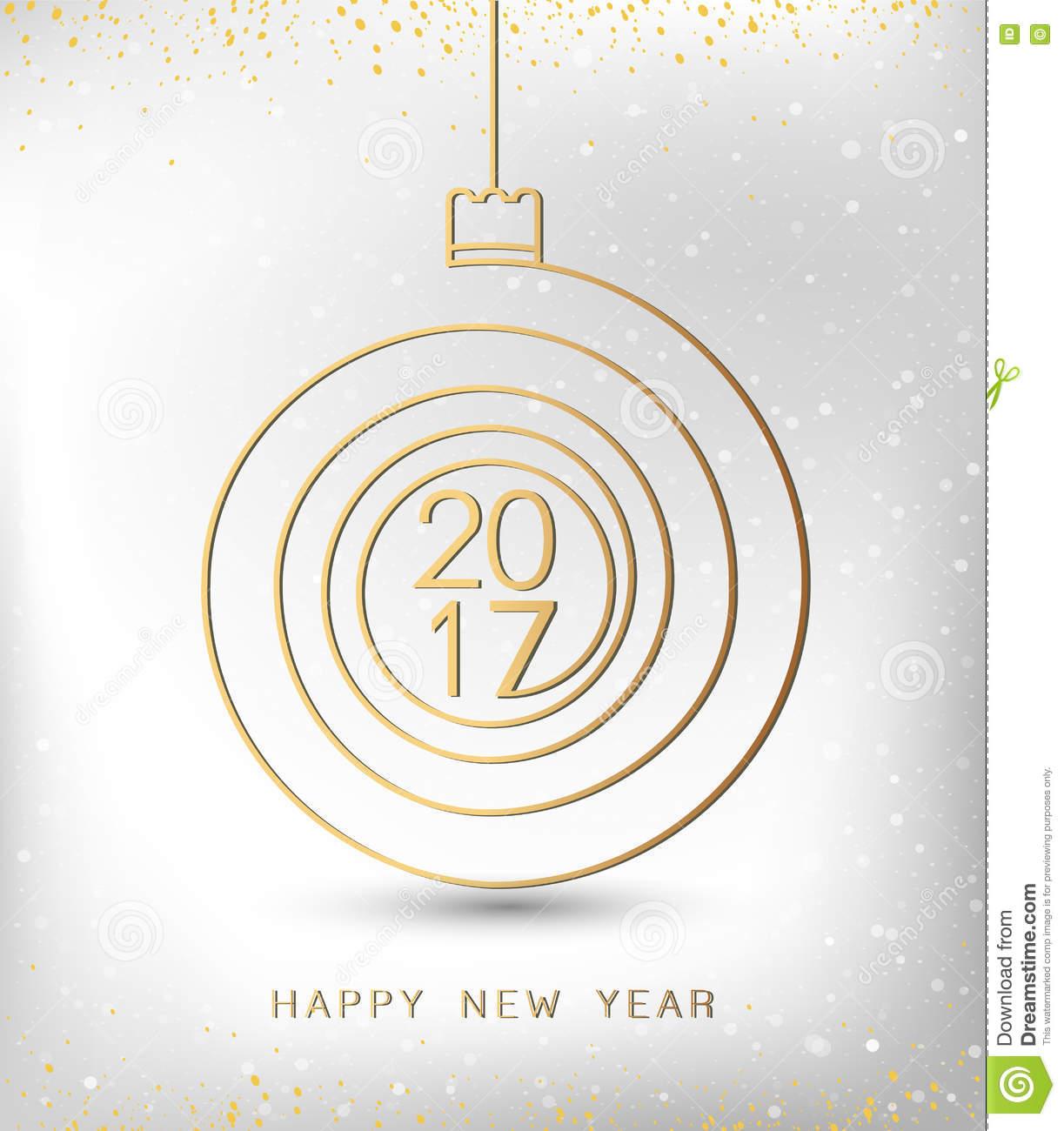 merry christmas happy new year gold 2017 spiral shape ideal for merry christmas happy new year gold 2017 spiral shape ideal for xmas card or elegant