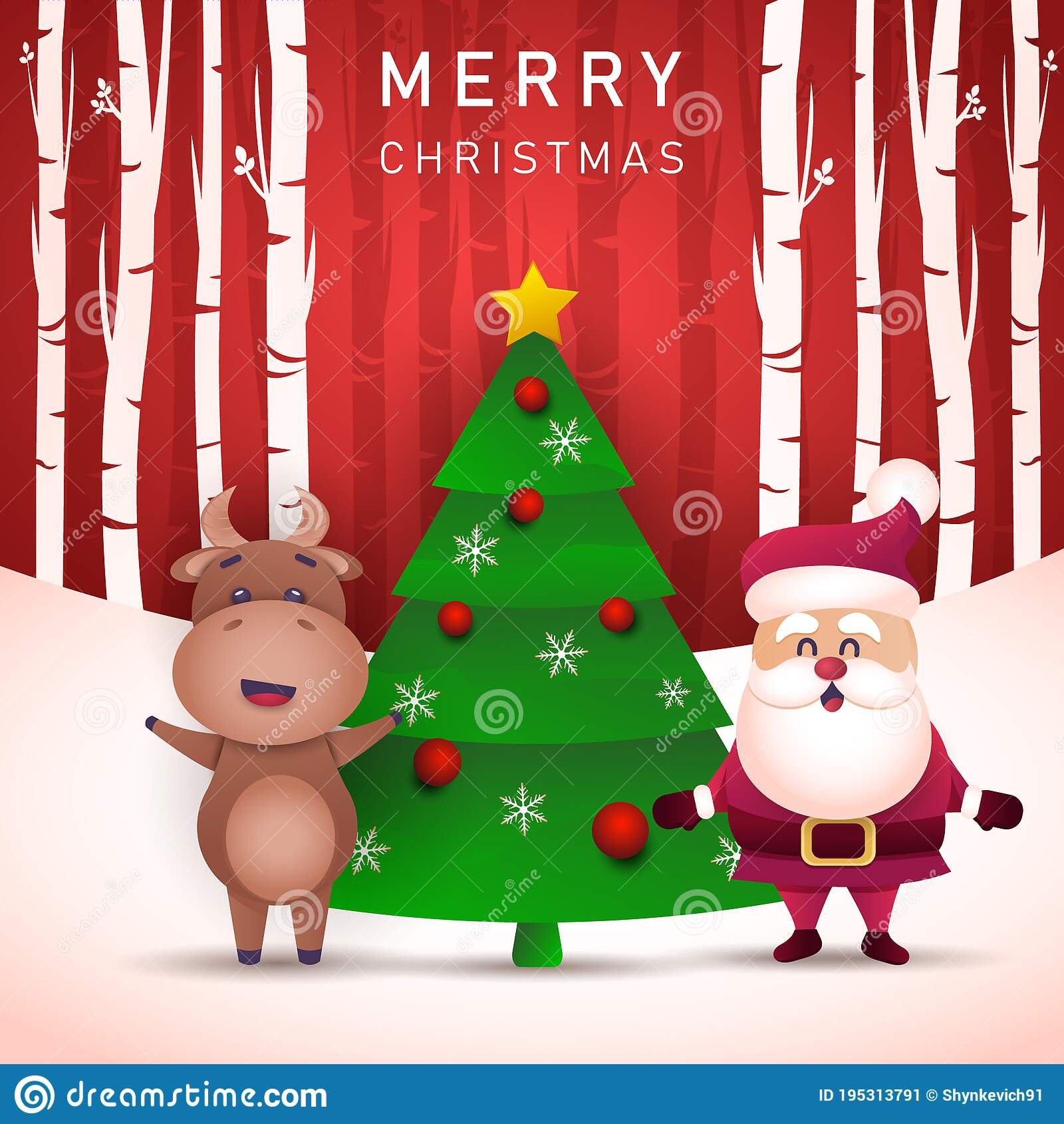 merry christmas and happy new year 2021 greeting card with bull stock illustration illustration of cartoon vector 195313791 merry christmas and happy new year 2021 greeting card with bull stock illustration illustration of cartoon vector 195313791