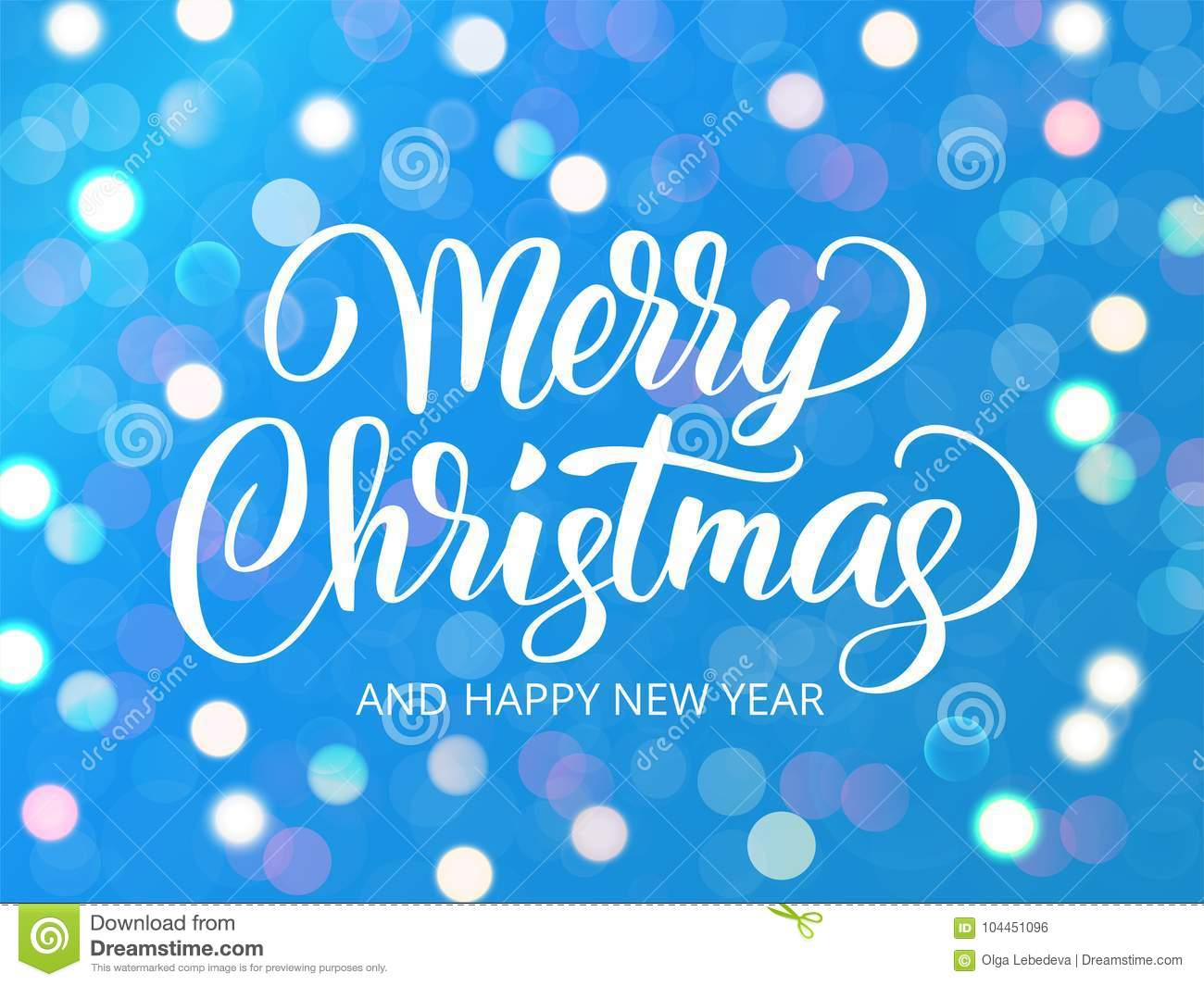 Merry christmas and happy new year text holiday greetings quote white and blue sparkling glowing lights background holiday greetings quote great for christmas and new year cards party posters gift tags m4hsunfo