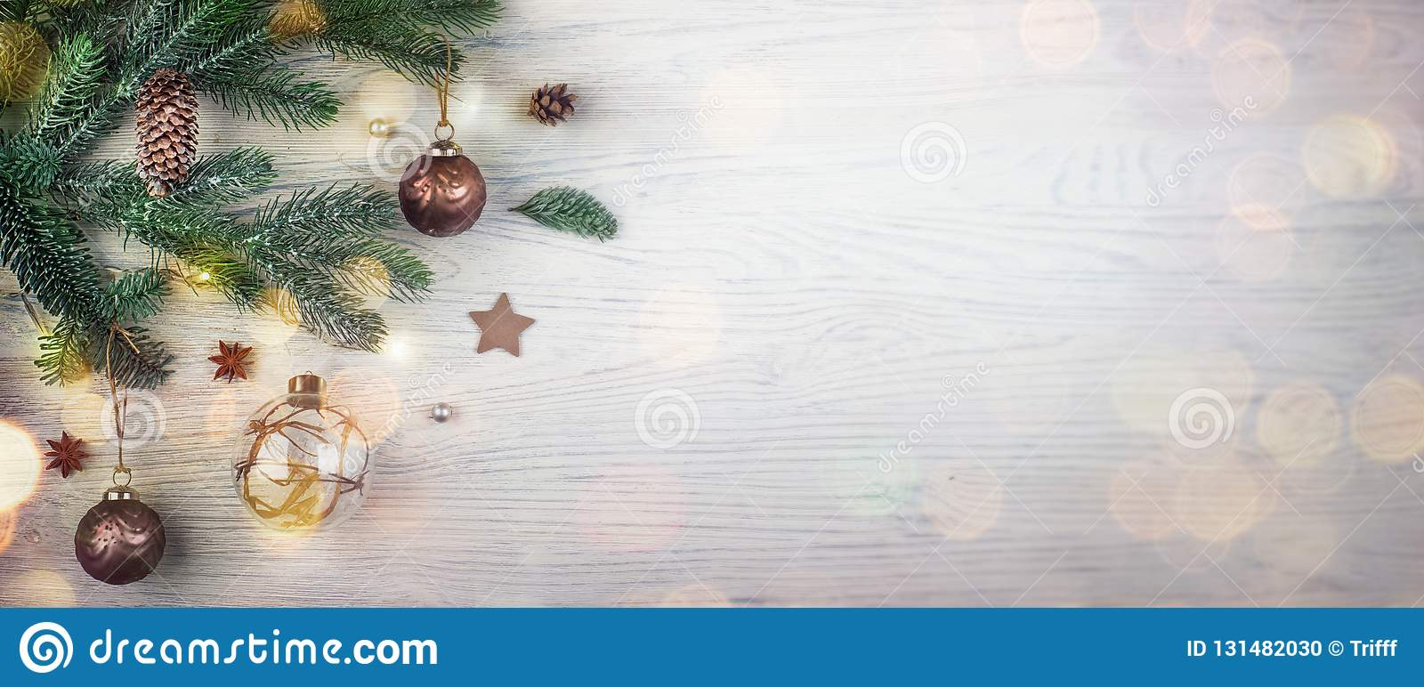 Merry Christmas And Happy New Year Holiday Concept. Closeup Of ...