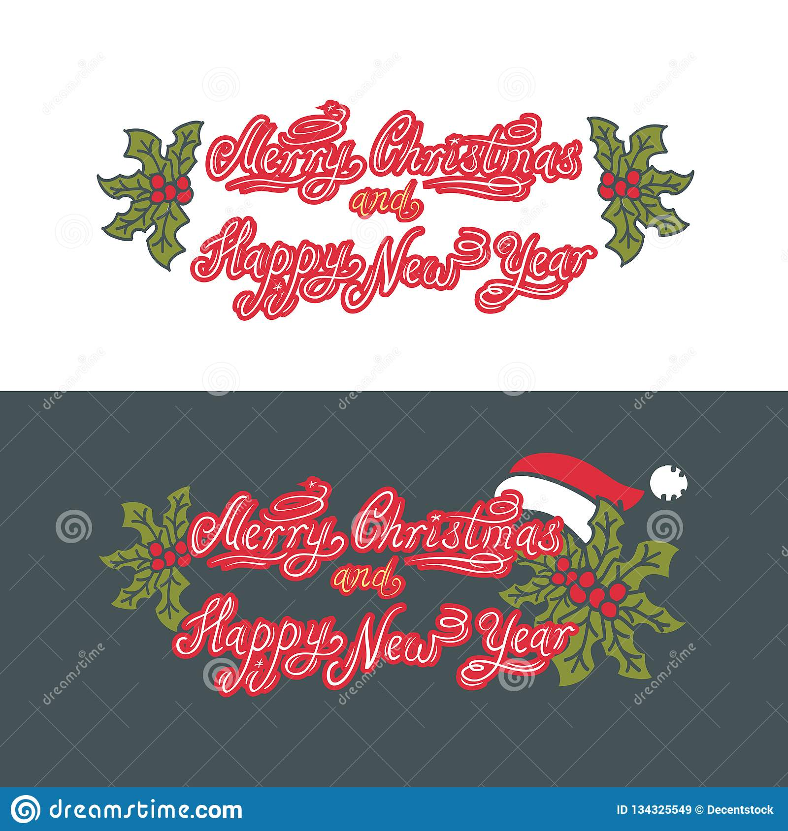 Merry Christmas and Happy New Year. Holiday.