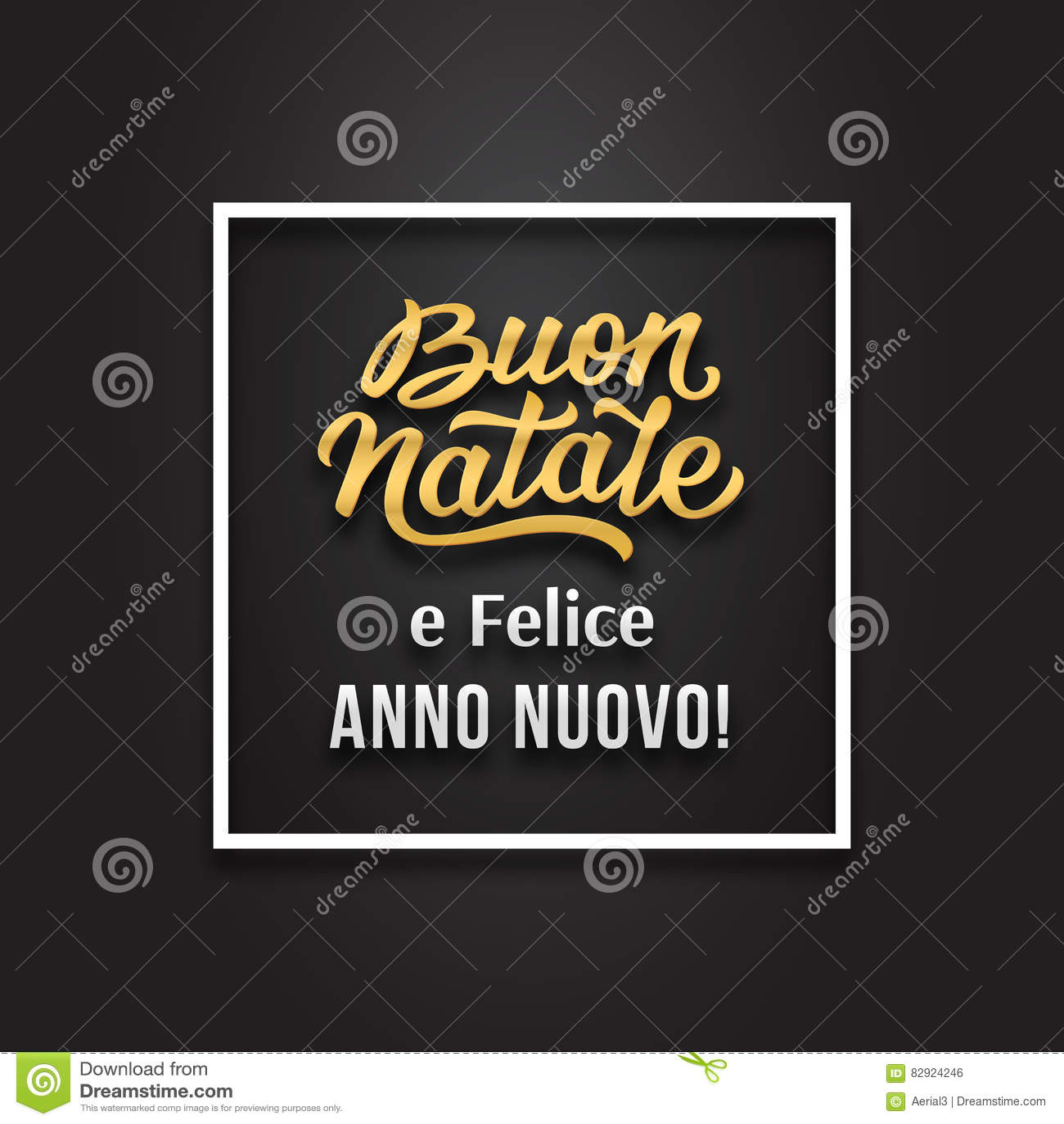 Merry christmas and happy new year in italian stock vector merry christmas and happy new year in italian m4hsunfo