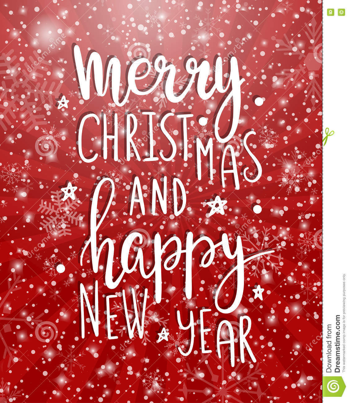 merry christmas and happy new year lettering quote - Merry Christmas And Happy New Year Quotes