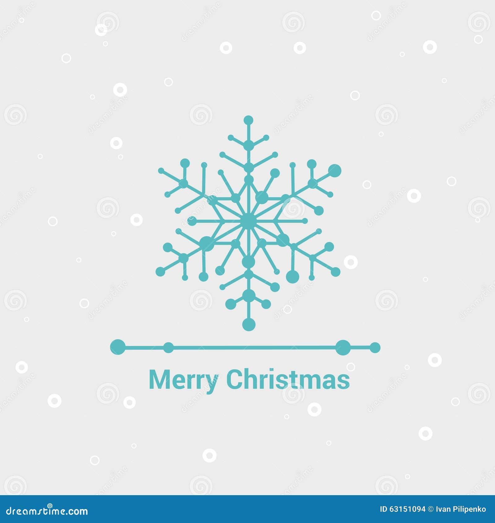 line minimalist style greeting card vector illustration