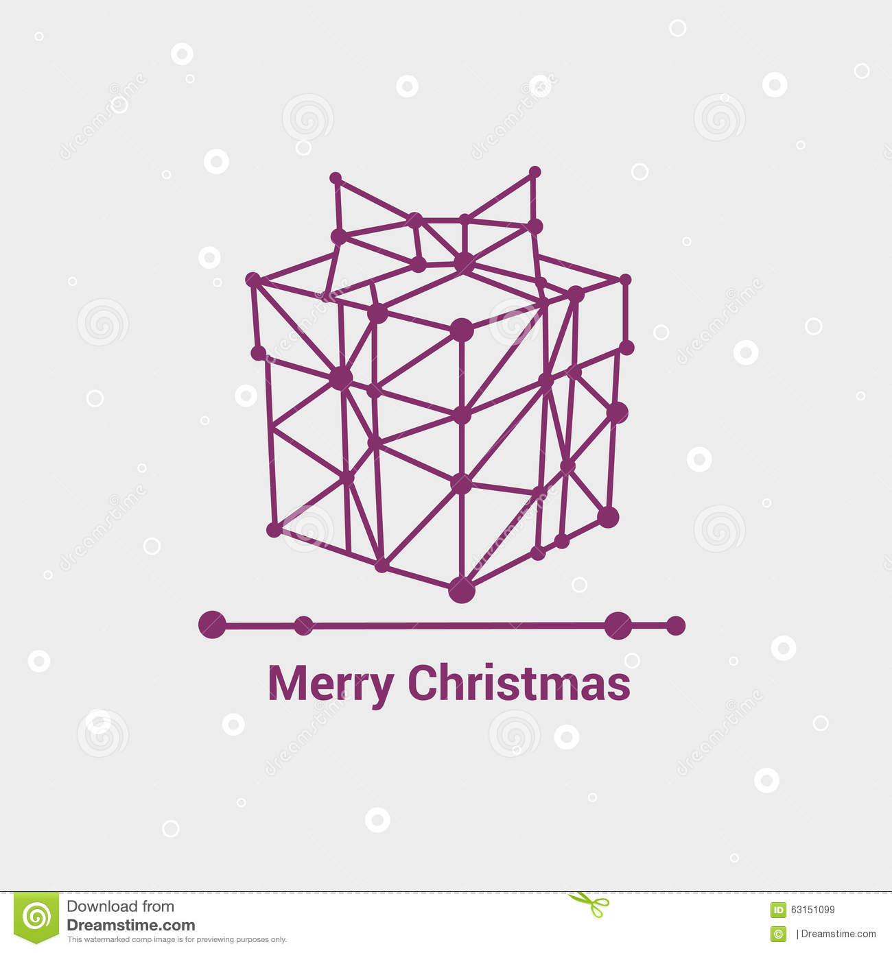 Merry christmas and happy new year line minimalist style for Minimalist design style