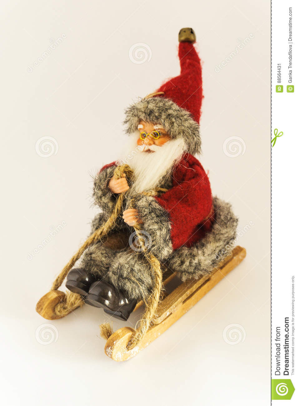 Merry Christmas And Happy New Year Model Santa Claus Christmas